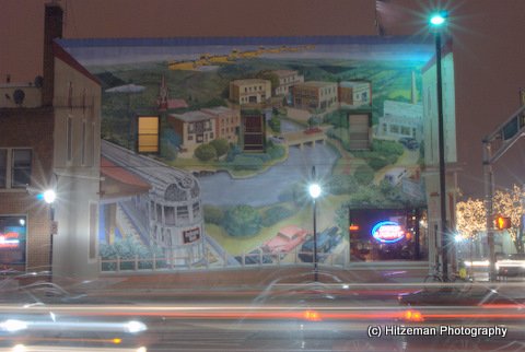 Naperville Night Mural