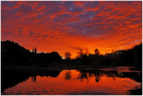 Oak Creek Sunset