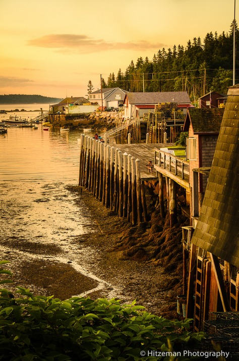 Stonington Harbor I, The Coast of Maine