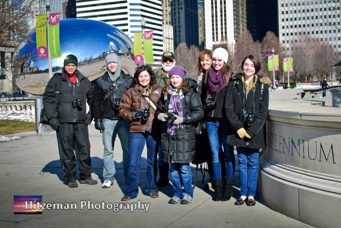 Millennium Park Photo Class - February 2012