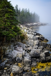 Seascape on Isle Au Haut, Acadia National Park, Maine