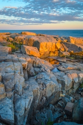 Sunset from Schoodic Point, Acadia National Park, Maine
