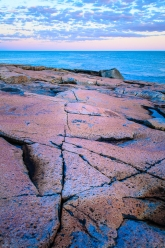 Sunset near Schoodic Point, Acadia National Park, Maine