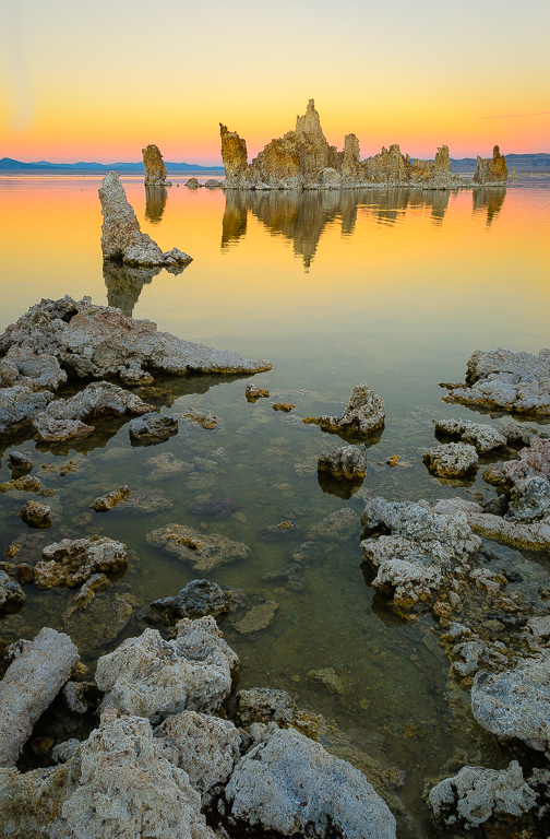 Mono Lake Tufa Transition