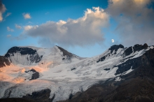 Columbia Icefield Moonrise
